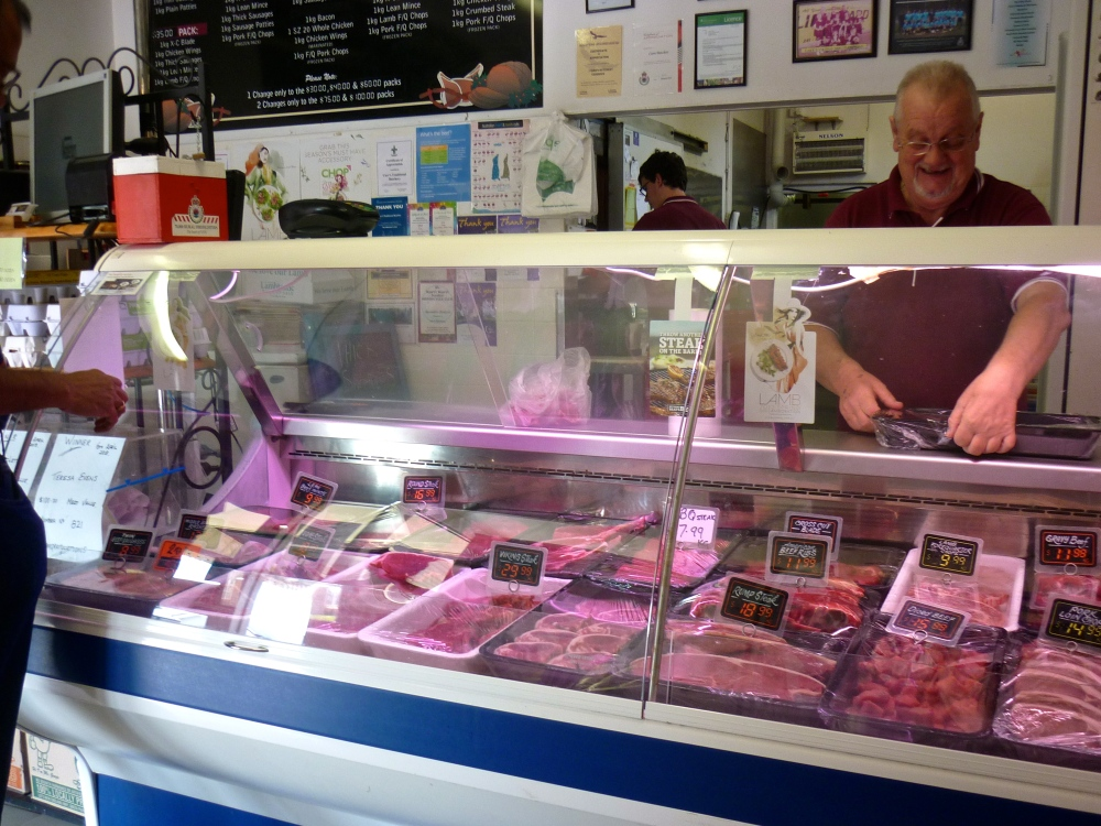 Shop Display at Carr's Traditional Butchery, Cessnock by Brendon D'Souza