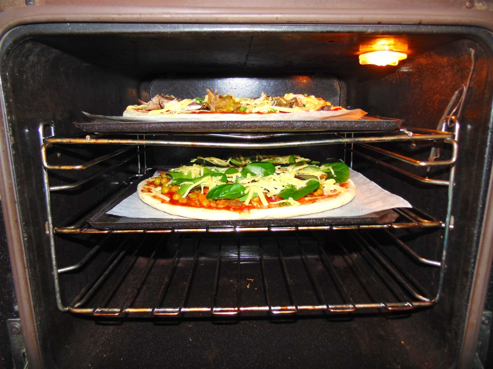 Cook in a hot oven :) Yum
