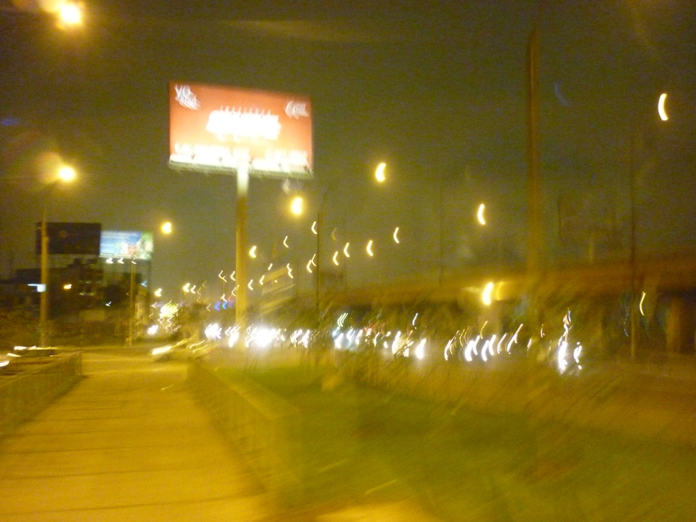 The lights in Lima - My hand shook :P