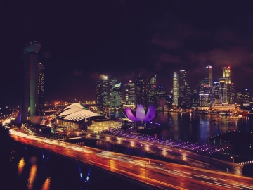 Marina Bay from the Singapore Flyer