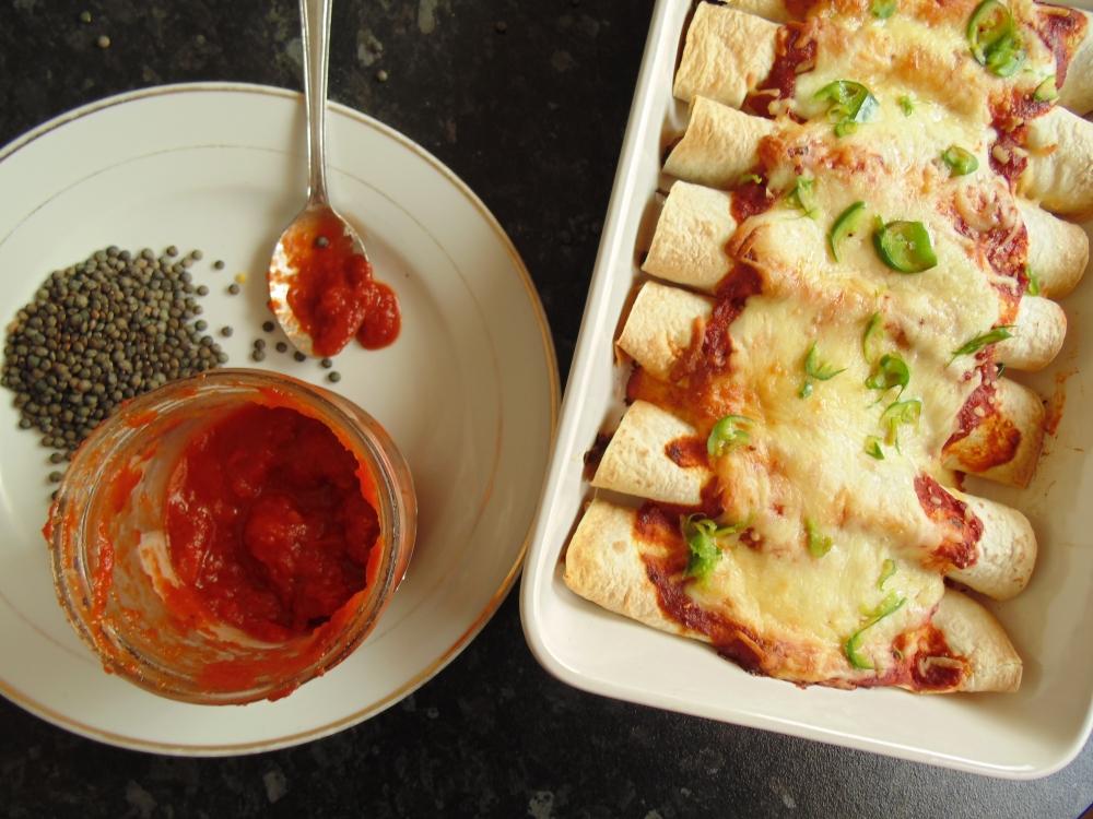 Spicy Lentil Enchiladas_Brendon D'Souza_1