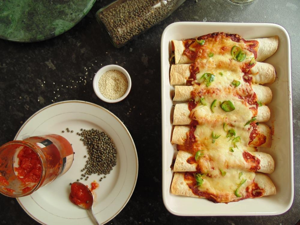 Spicy Lentil Enchiladas_Brendon D'Souza_3