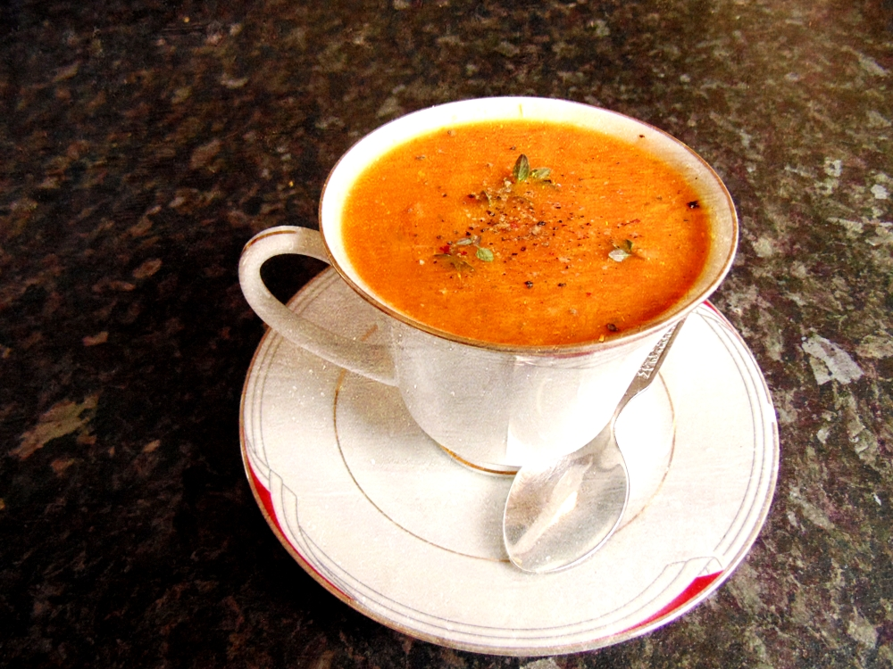 Slow Roasted Tomato and Garlic Soup_Brendon D'Souza_3