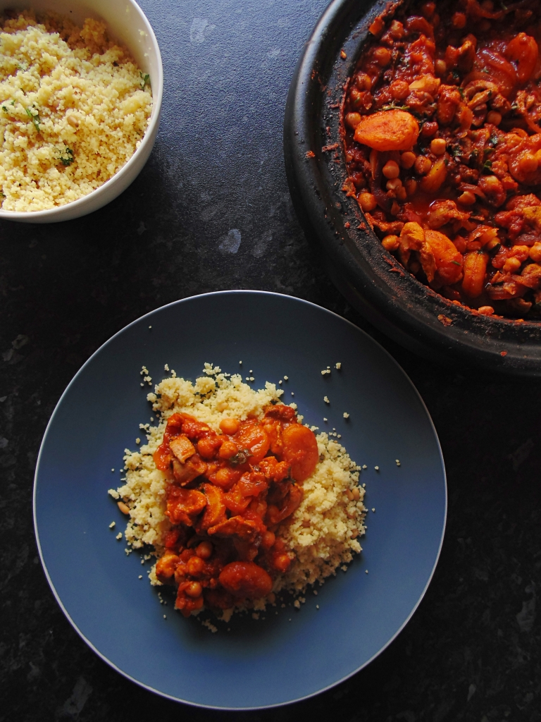 Tagine of Chicken, Chickpeas and Apricots with Cous Cous and Pine Nuts_Brendon D'Souza_4
