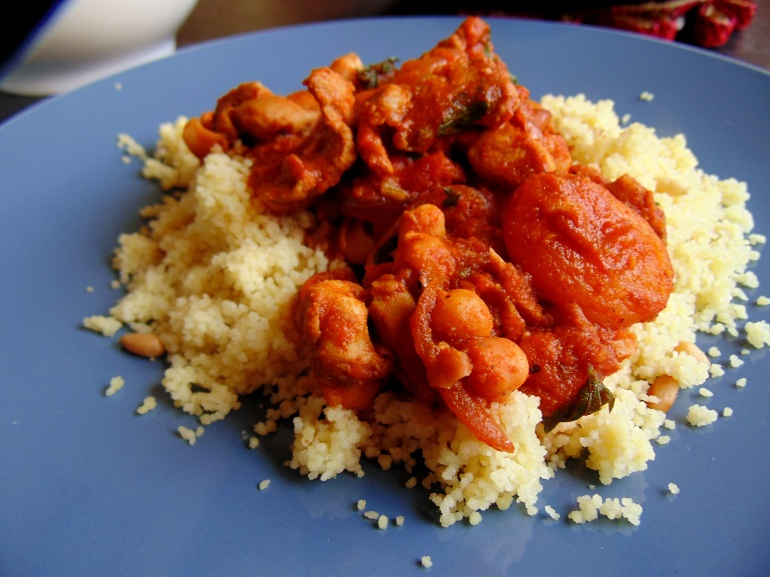 Tagine of Chicken, Chickpeas and Apricots with Cous Cous and Pine Nuts_Brendon D'Souza_3
