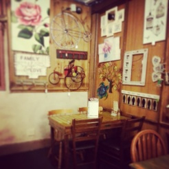 I couldn't get enough of the decor at King Henry's Court, Penrith