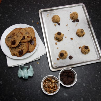 Decadent chocolate chip cookies