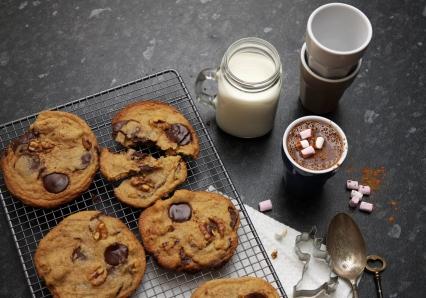 Enjoy with freshly baked cookies