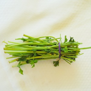 Parsley stalks are packed full of flavour!