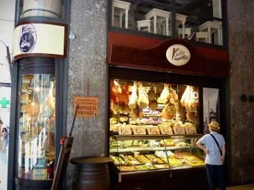 One of my favourite market displays neat Bologna's Mercato delle Erbe