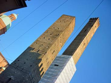 Bologna's famous Twin Towers