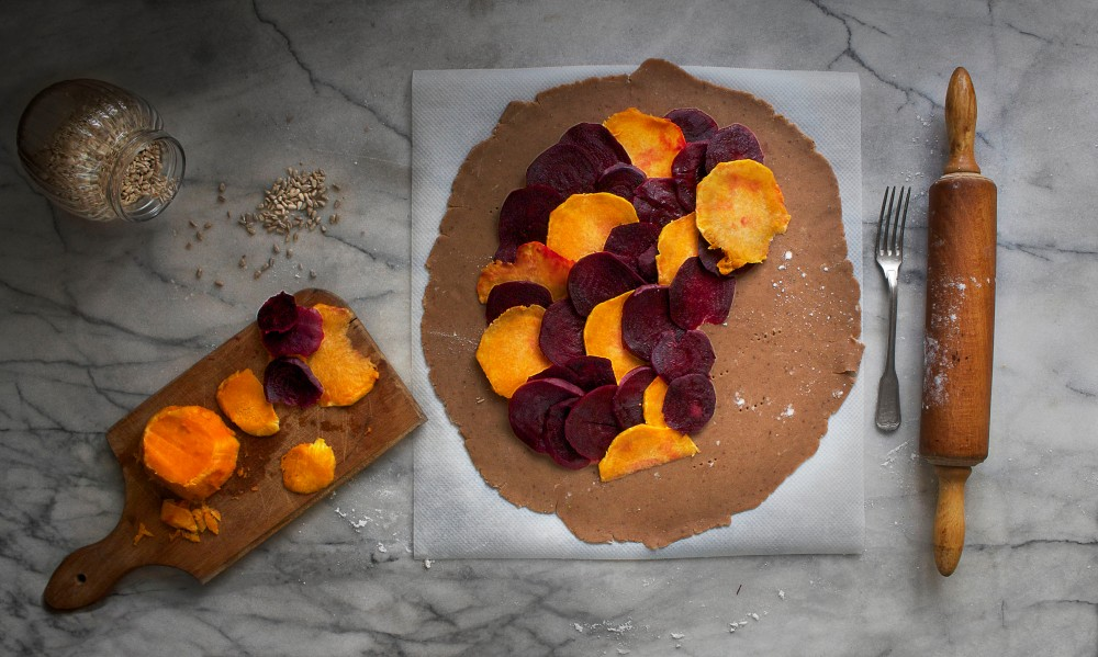 3-Beetroot & squash galette Infinite belly